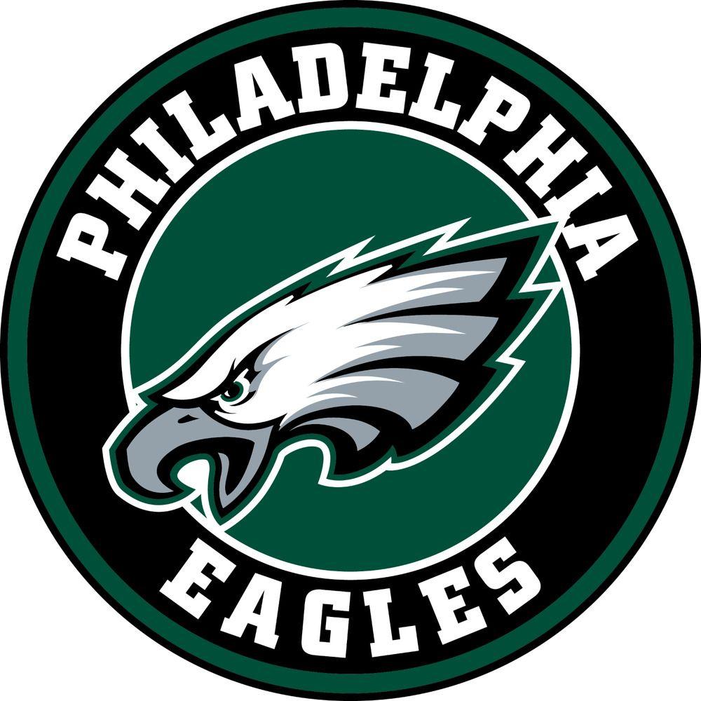 Details about Philadelphia Eagles Circle Logo Vinyl Decal