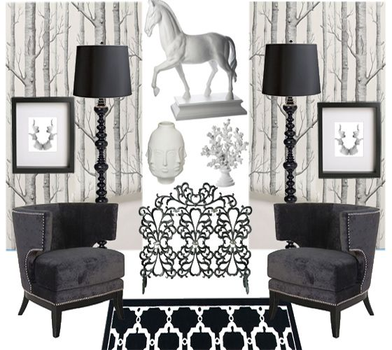 80 Peaceful Study Room Decorating Ideas: The FIDM Blog: Get The Look: Decor Inspired By The TV Show