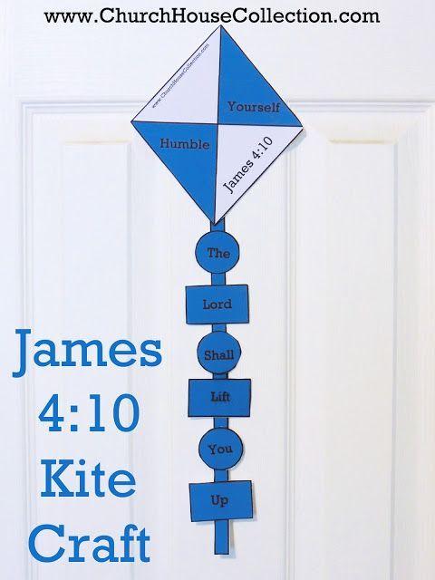 Kite Cutout Craft For Sunday School Kids James 410- Free Printable