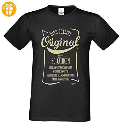 cooles Männer Herren T-Shirt Motiv Original seit 50 Jahren Outfit Klamotte Geschenk  Geburtstag Jahrgang