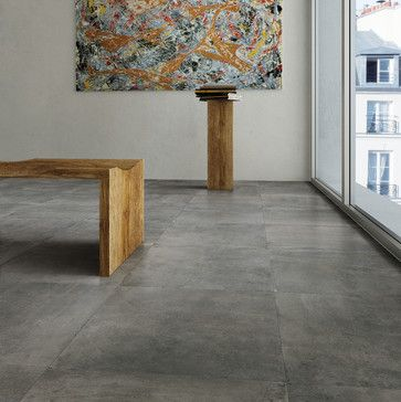 concrete tile floor concrete look tile