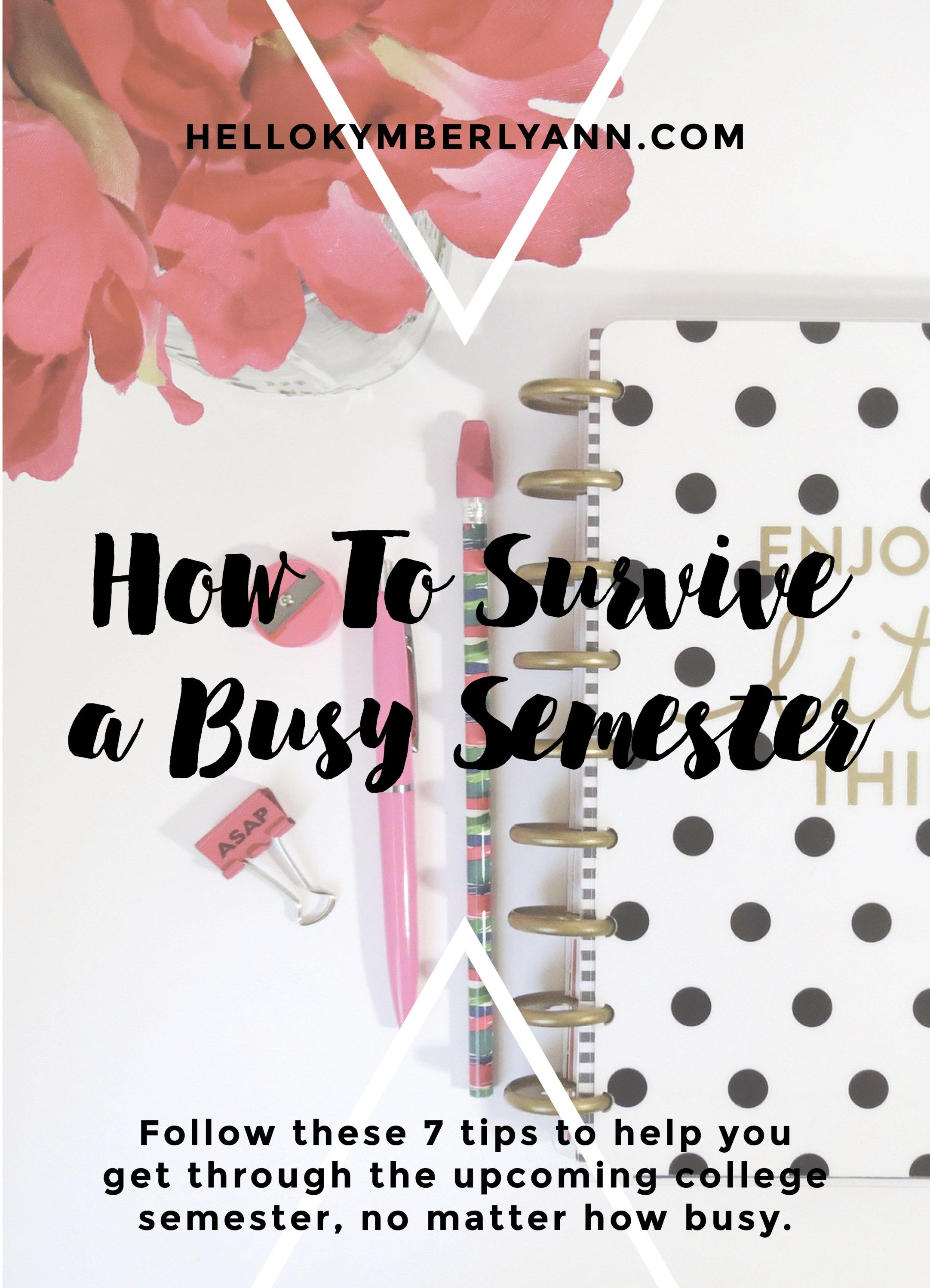 tips to survive college
