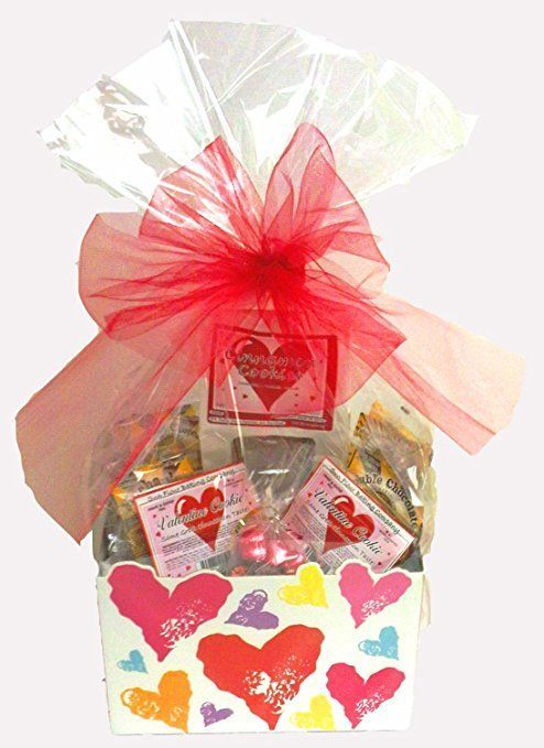 Gluten free gift baskets gifts for every occasion gluten free click here to buy valentines day gift basket gluten free vegan large negle Images