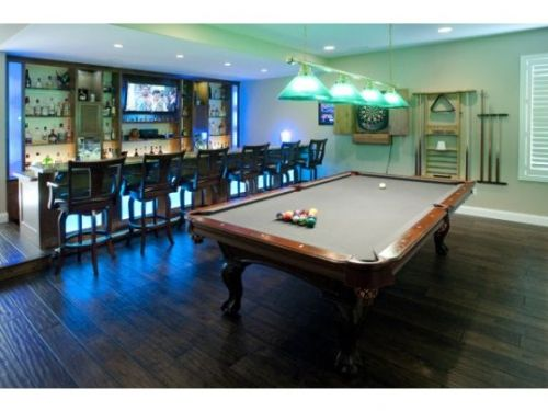 Man Caves Charles Kelley : Awesome man caves billiards pool men cave and