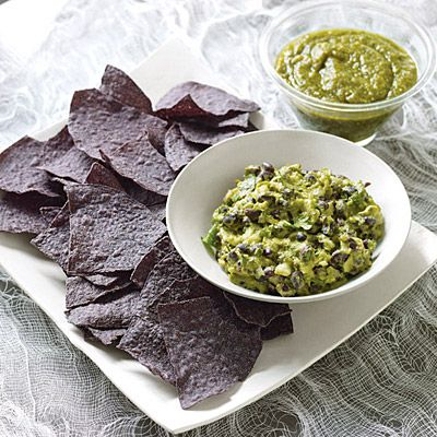 Sinister Salsa: Guacamole with Black Beans