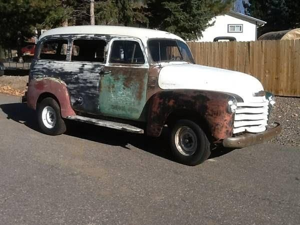 1953 Chevy Suburban Carry All For Sale In Colorado Classics