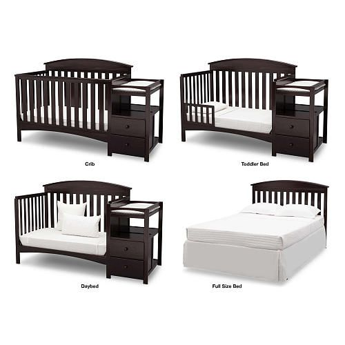 A Convertible Crib That Grows With Baby A Convenient