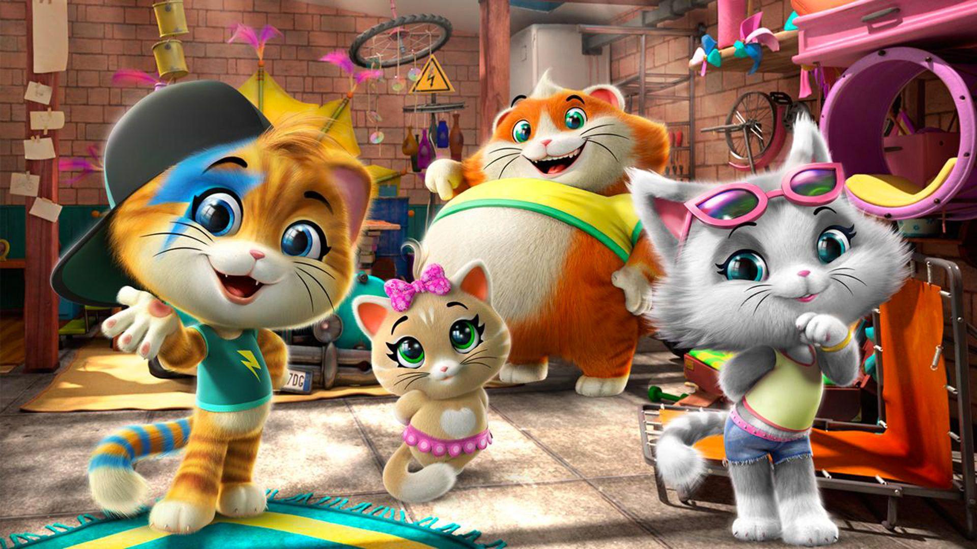 44 gatti dal 12 novembre la nuova serie animata prescolare su Rai YoYo