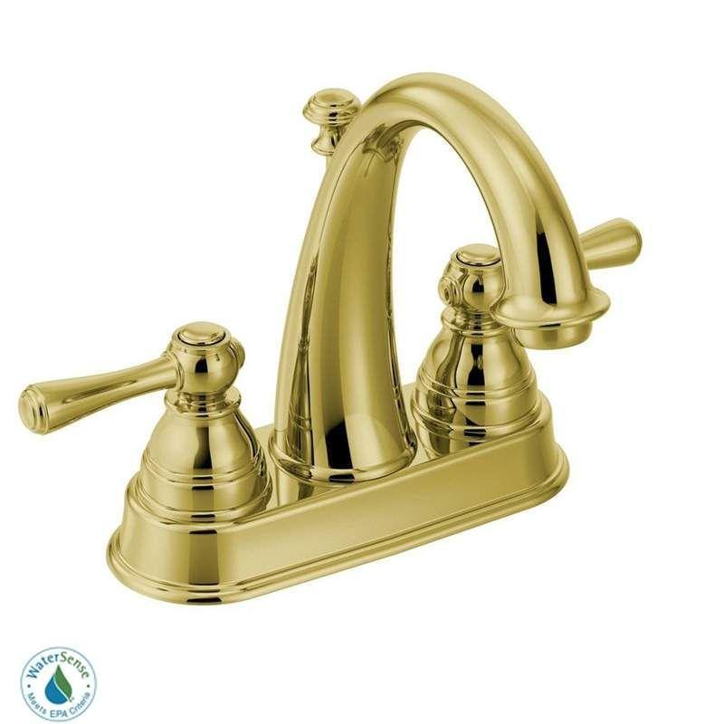 Moen 6121 Double Handle Centerset Bathroom Build Com High Arc Bathroom Faucet Bathroom Faucets Sink Faucets Moen brass bathroom faucet
