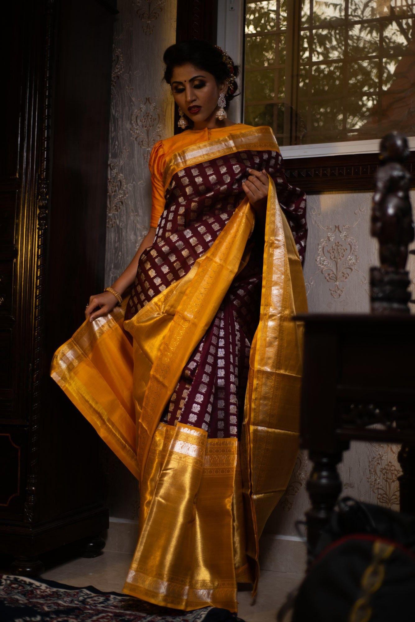 Pin by Kalpavruksh on Brides of kalpavruksh   Saree models ...