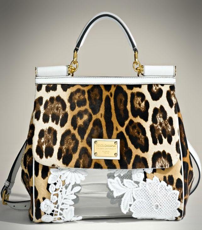 Dolce Gabbana Miss Sicily Classic Leopard Print