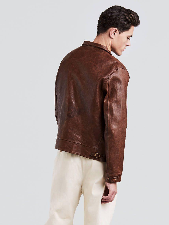 The Levi S Vintage Clothing Menlo Cossack Jacket Is A Replica Of A 1930s Garment Originally Belonging T Shop Mens Jeans Jean Jacket Men Levis Vintage Clothing