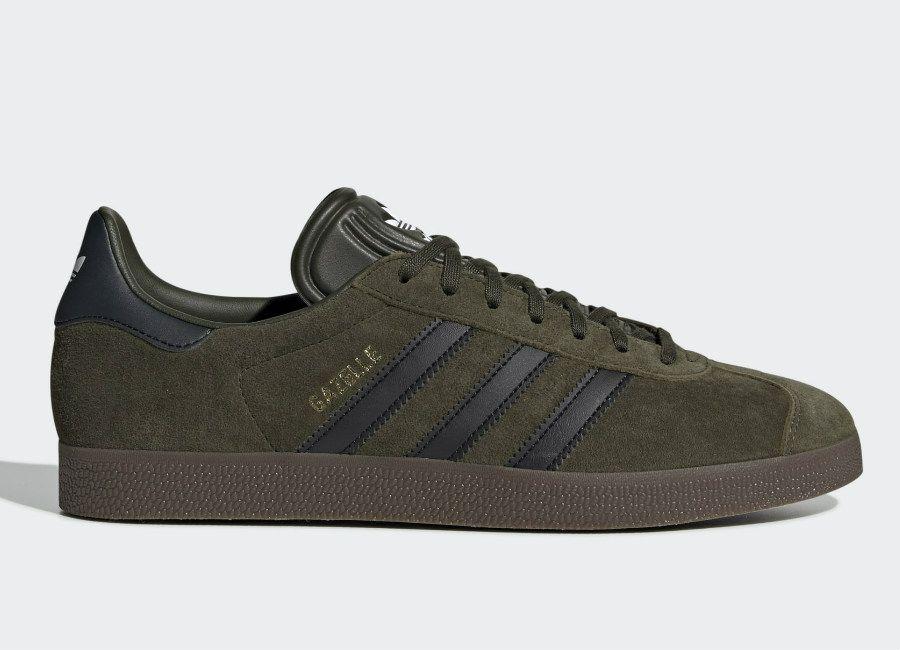 Adidas Gazelle Shoes - Night Cargo