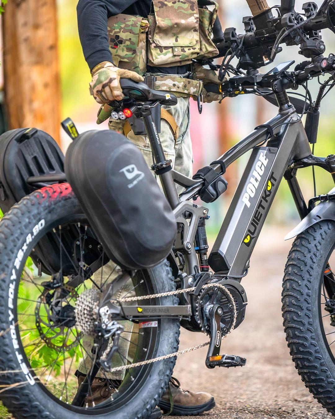 2020 Quietkat Ridgerunner Full Suspension Ebike In 2020 Mountain Biking Gear Ebike Bike Gear