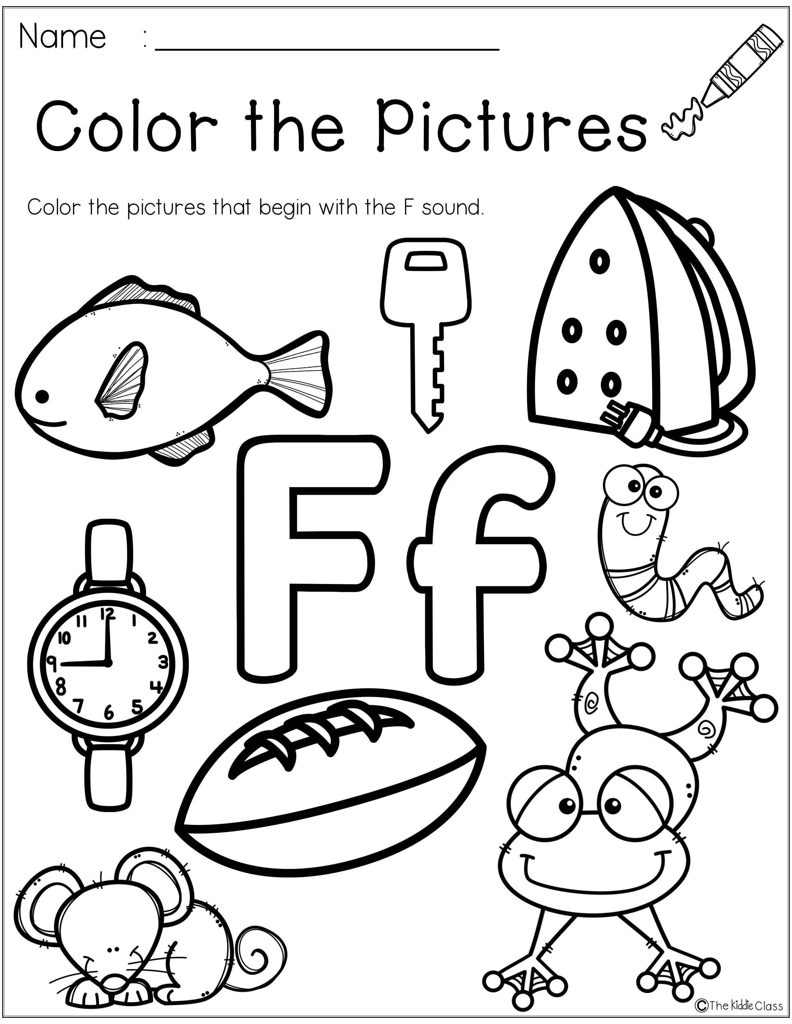 Letter Of The Week F Is Perfect For The Beginning Of The