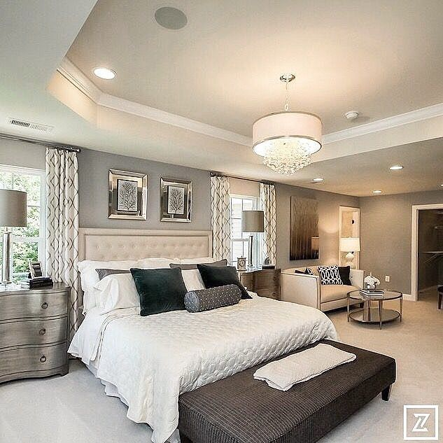 15 Master Bedroom Decorating Ideas And Design Inspiration: Holy Crap We Bought A House!