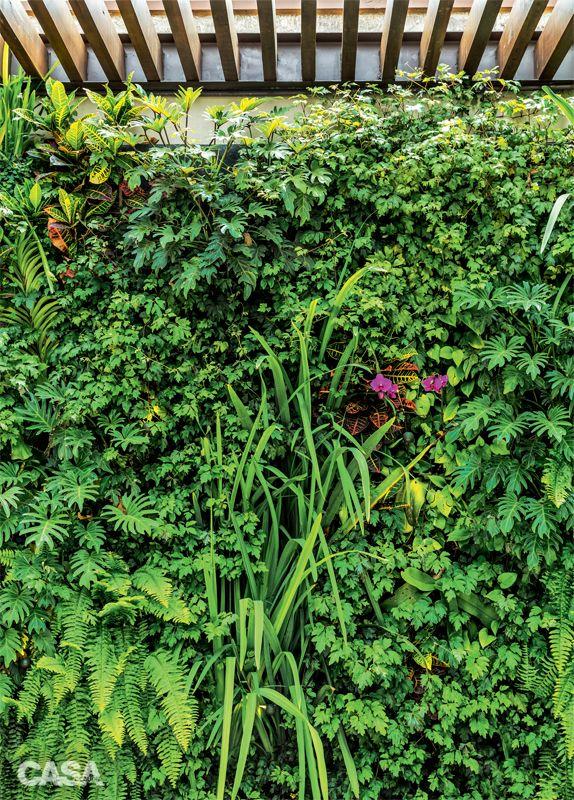 Este jardim é um estar natural no topo da cidade - Casa
