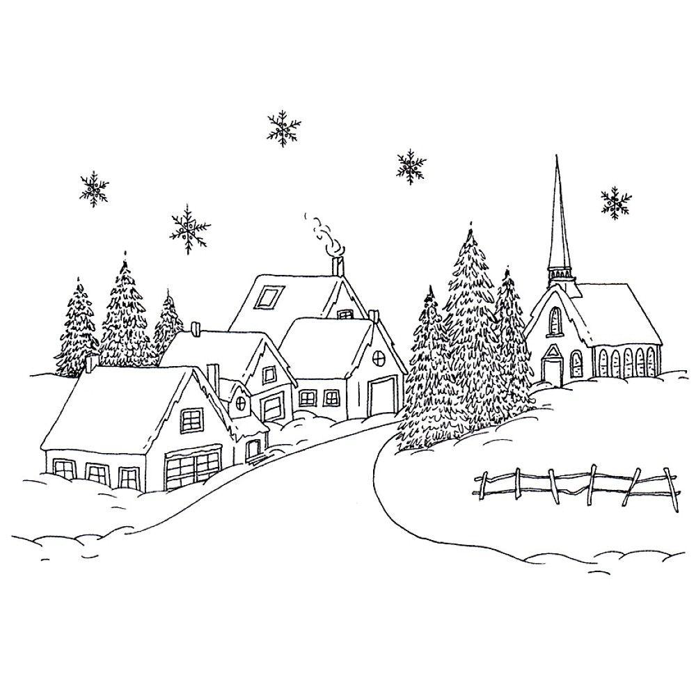 Village Christmas - pretty :) | NAVIDAD INVIERNO | Pinterest ...