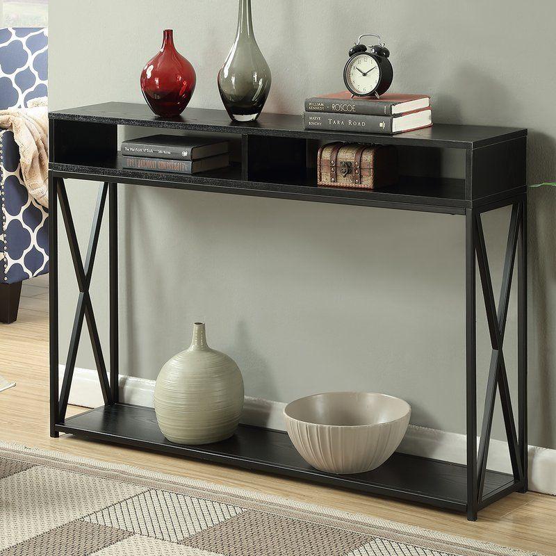 Andover Mills Abbottsmoor Rectangle Console Table U0026 Reviews | Wayfair