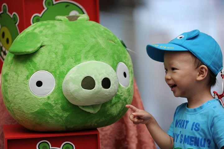 Angry Birds se estrena en las consolas de videojuegos