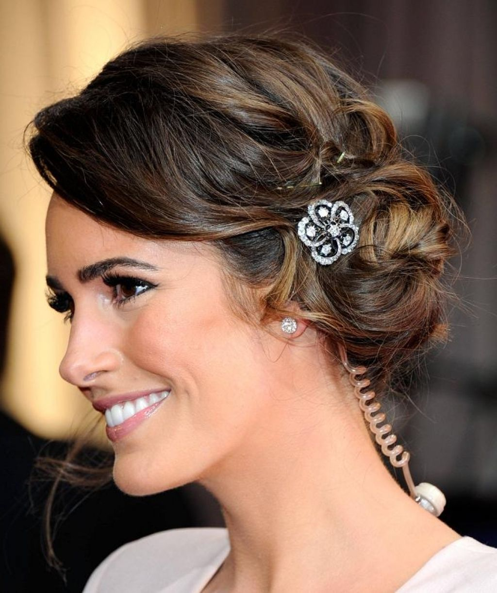 front ponytail low updo wedding guest hairstyles for long