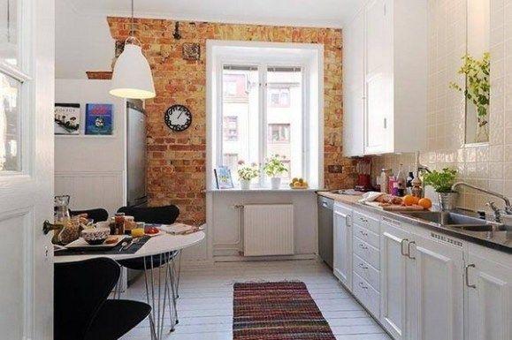 Desain Dapur Skandinavia; Interior Dapur Mungil yang Serba ...