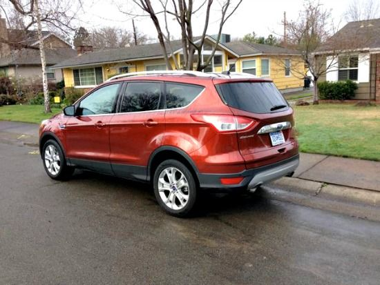 Check Out The Burnt Orange Exterior Paint Of The 2014 Ford Escape