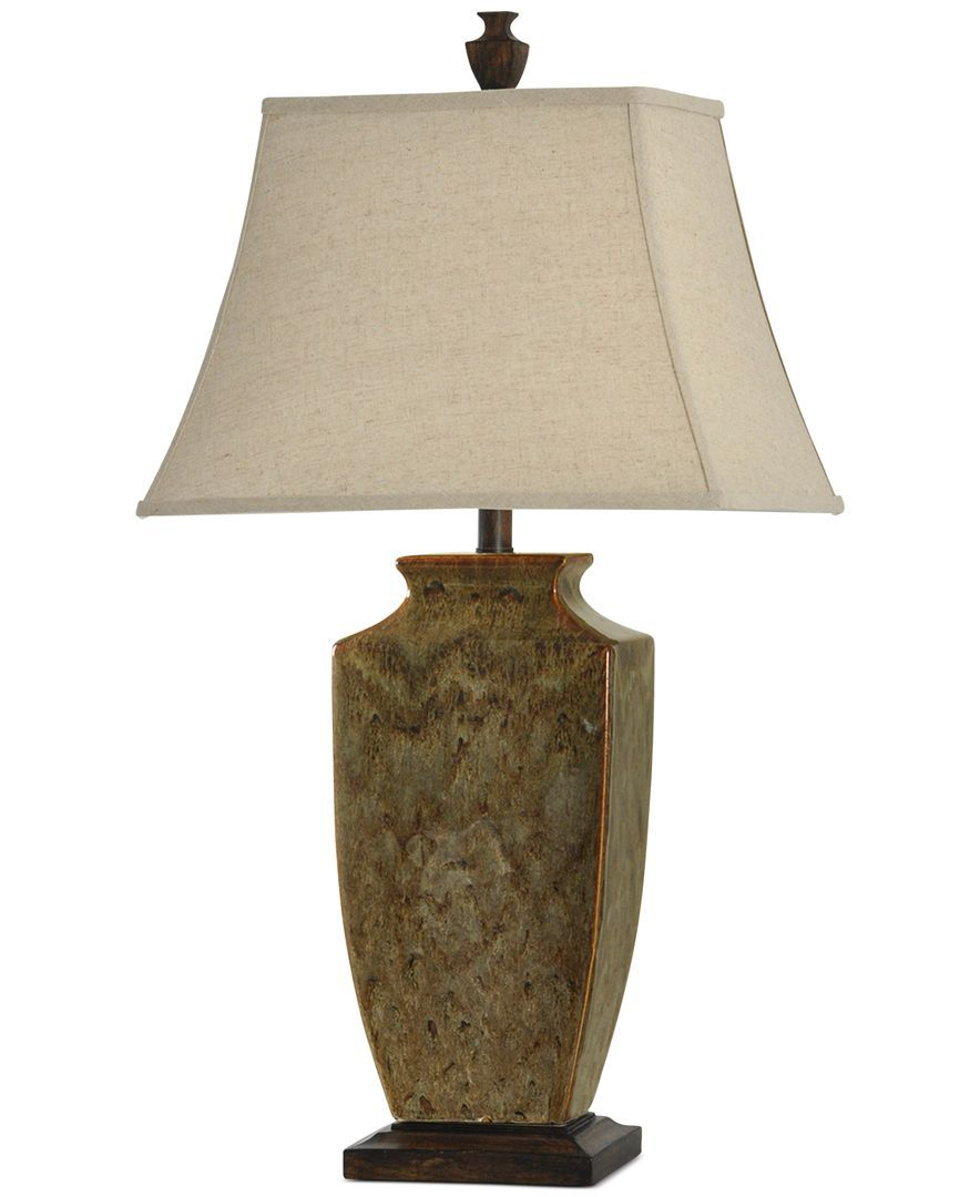 Earth Tone Ceramic Table Lamp   台灯 Tabble lamp   Ceramic table ...