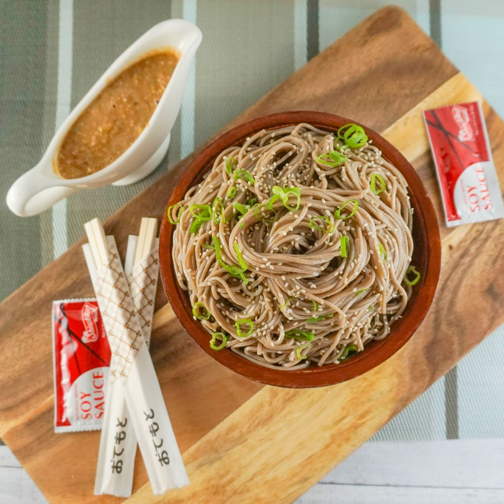 This sesame soba noodle recipe is the perfect side dish for any ...