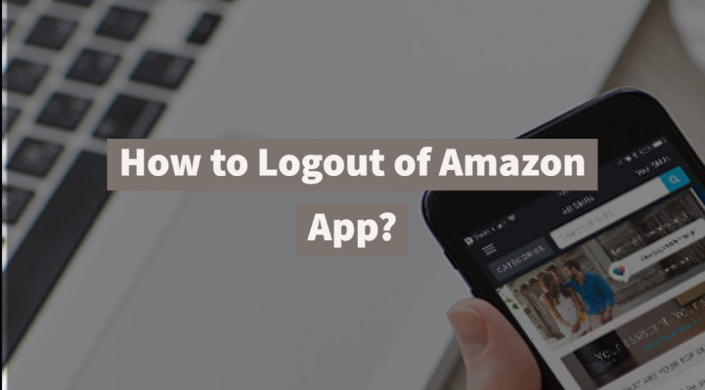 How To Logout Of Amazon App Tv App App Ios Application