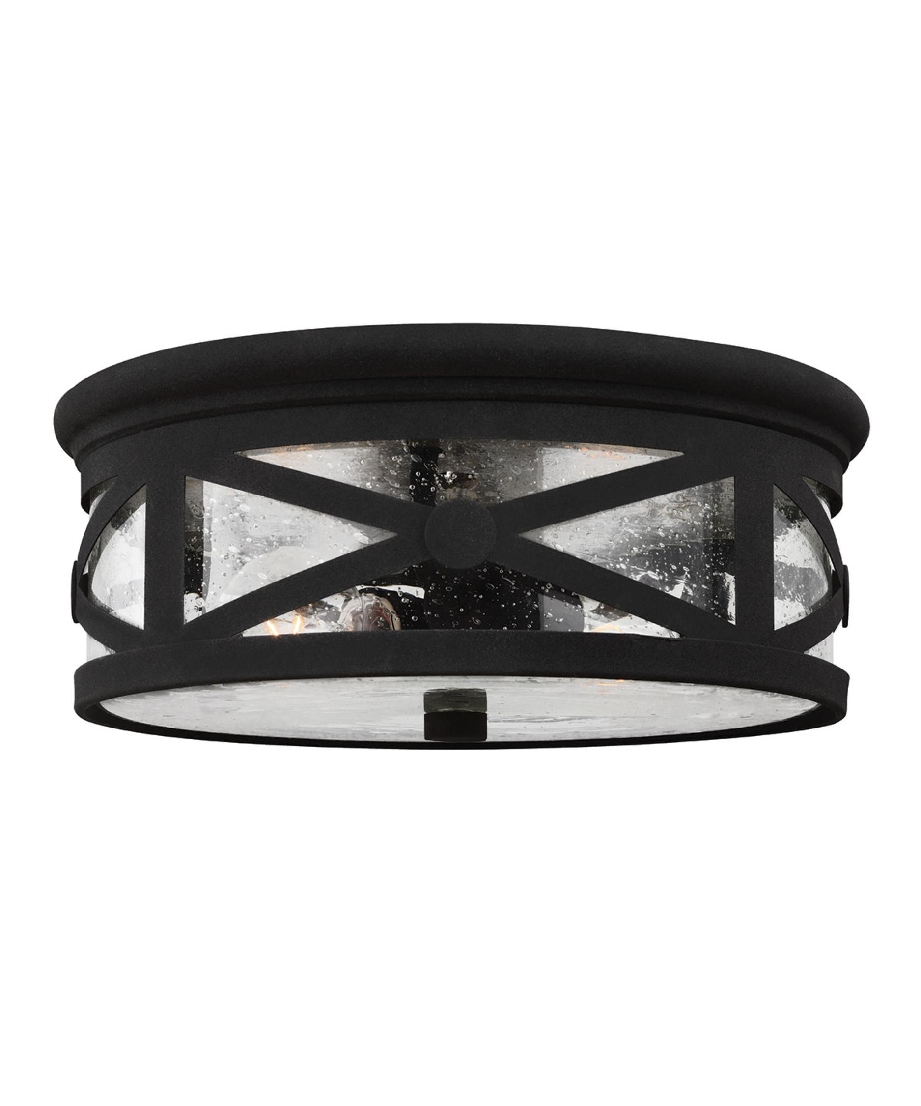 Shop Sea Gull Lighting 7821402 Lakeview 2 Light Outdoor Ceiling Flush Mount  At Loweu0027s Canada. Find Our Selection Of Outdoor Flush Mount Lighting At The  ...