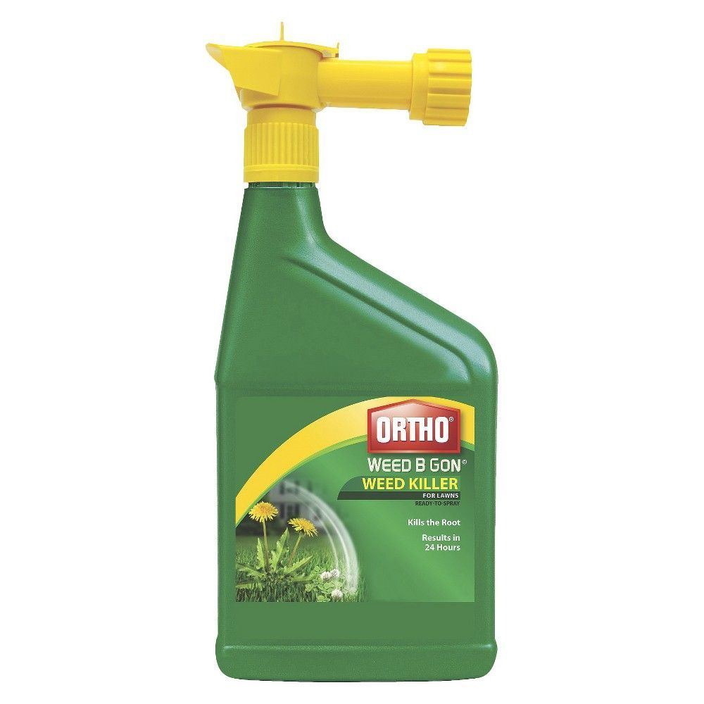 Ortho weed b gon weed killer for lawns oz ready to spray weed