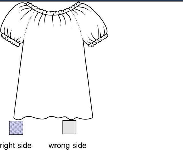 Link to a free pattern for an Adult-Size Peasant Blouse Tutorial ...