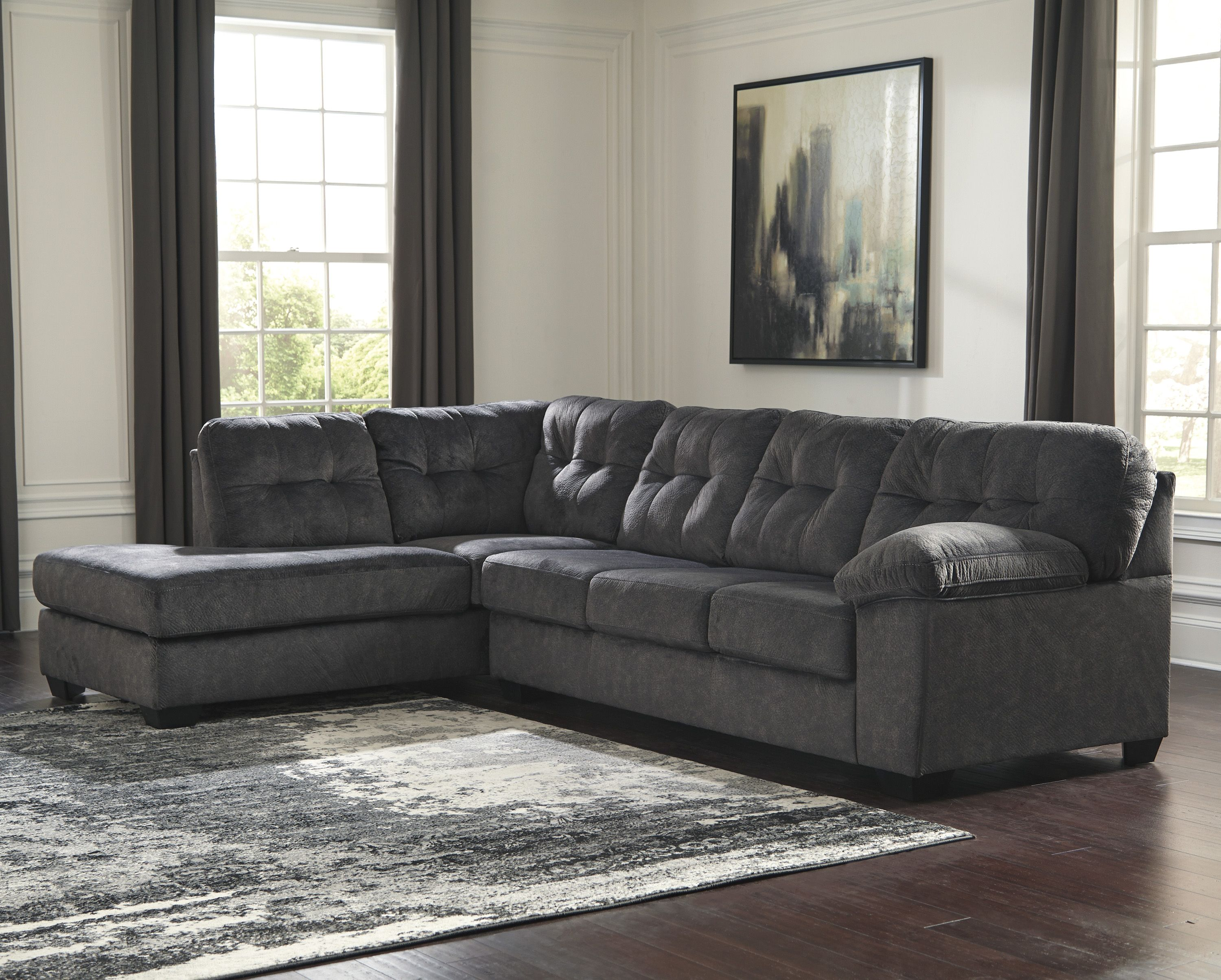 Accrington Granite Right Or Left Arm Facing Sectional Sofa | Marjen Of  Chicago | Chicago Discount