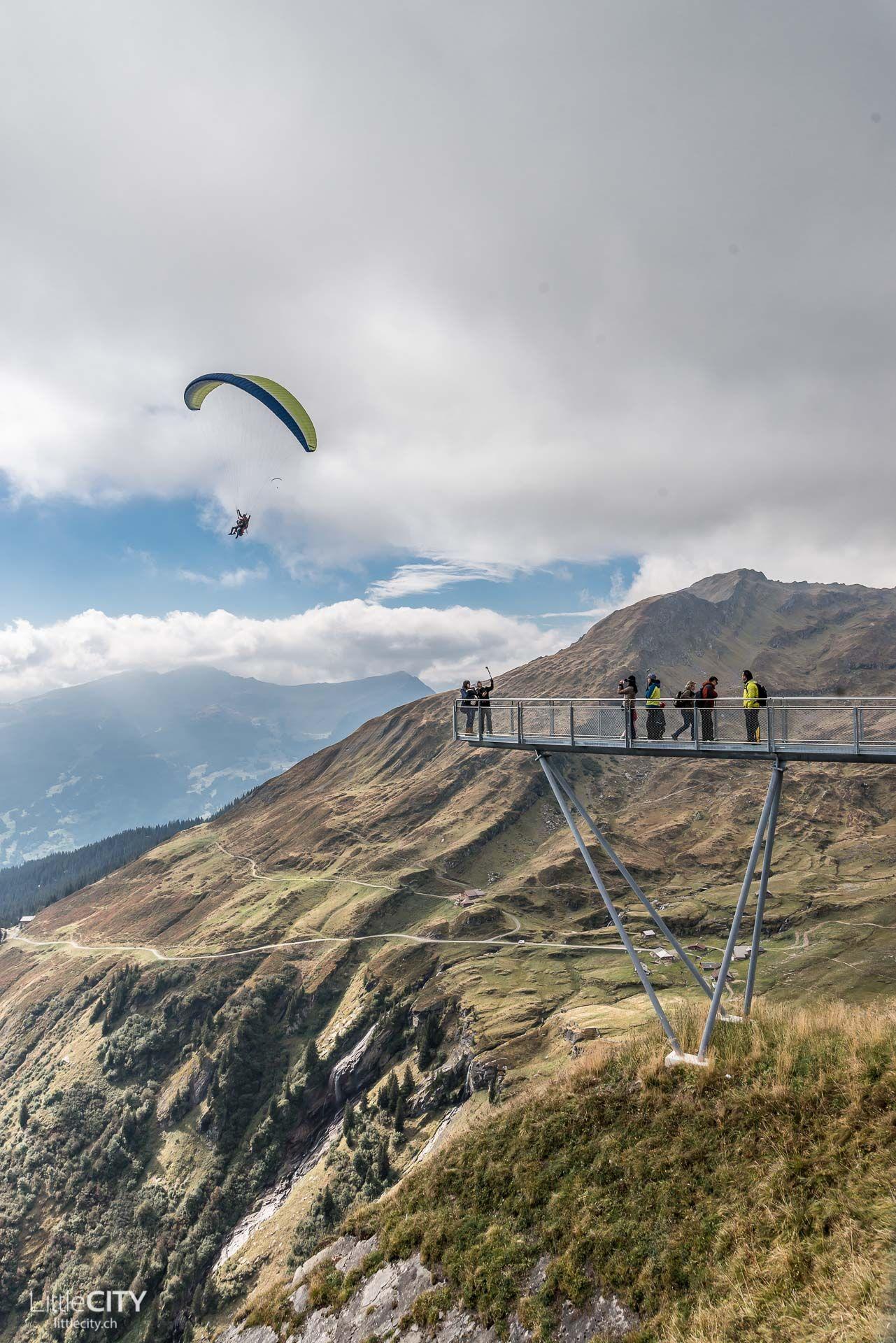 Grindelwald First Schweiz First Cliff Walk by Tissot & Paragliding