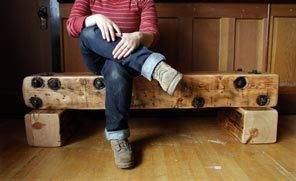 The beam benches can be used inside or out - we have more in the store now!