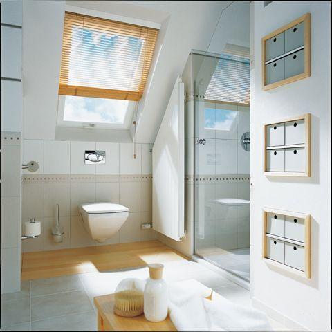 badkamer kleine ruimte schuin dak - google search - kleine, Deco ideeën
