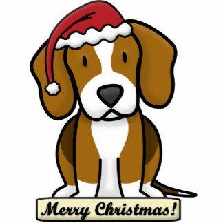 Christmas Beagle Clipart.Beagle Cartoon Christmas Clipart Paintings Christmas