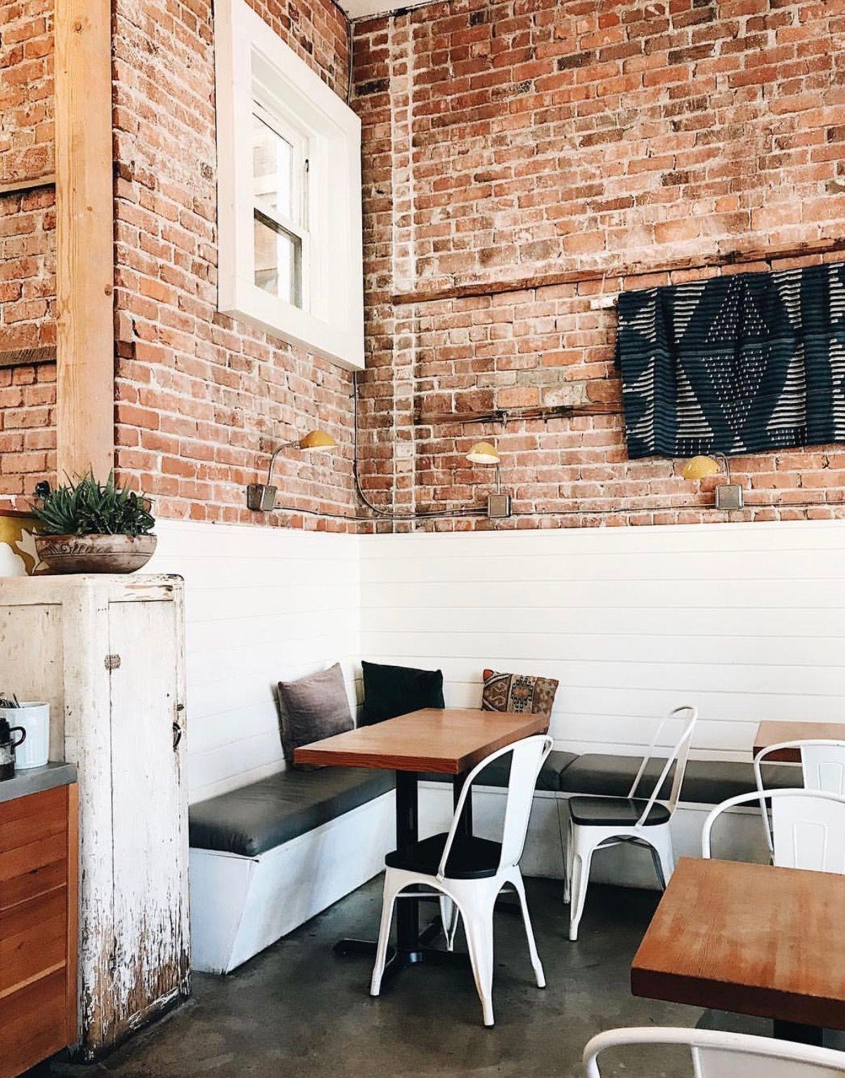 Half Exposed Brick Wall Brick Interior Wall Living Room Tiles