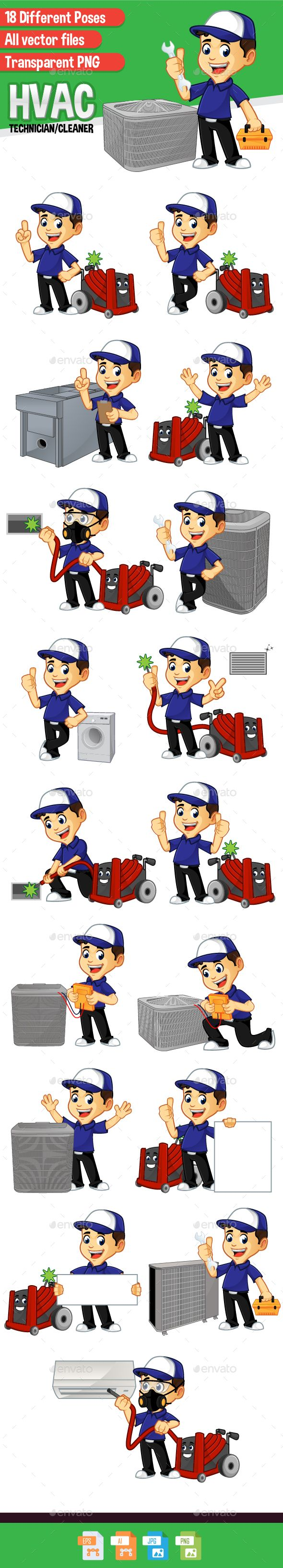 Hvac Cleaner Or Technician