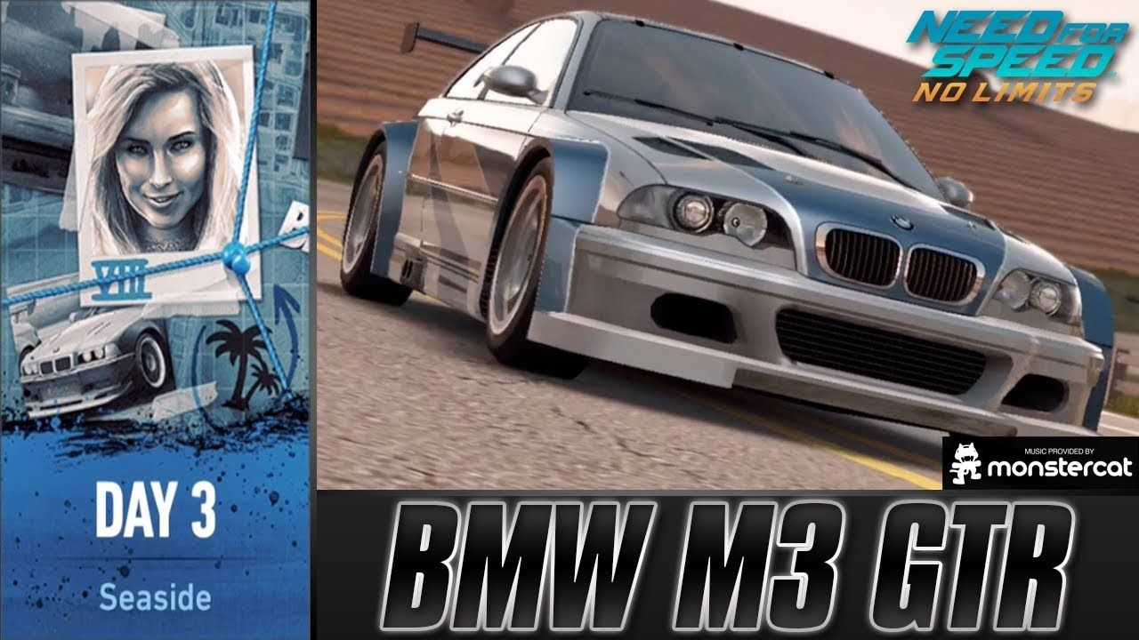 Need For Speed No Limits Bmw M3 Gtr Urban Legend Day 3 Seaside Youtube Bmw Bmw M3 Gtr