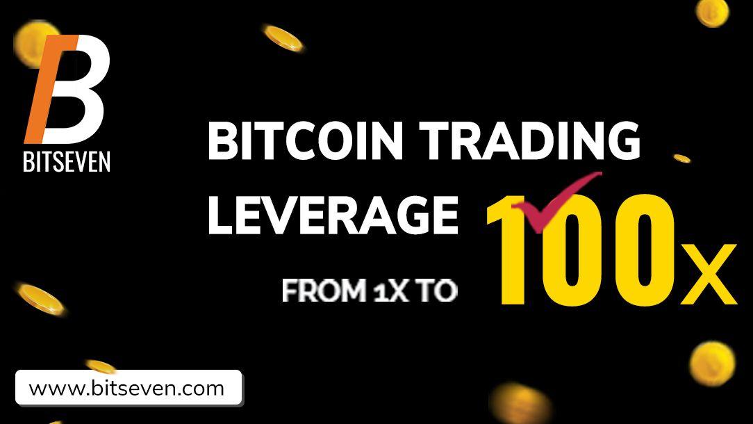 Bitcoin leveraged trade at 100x leverage maximum, 100