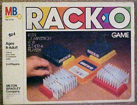 Vintage Racko Game Milton Bradley 1980 Be Sure To Check Out This