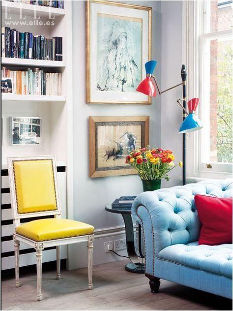 love the tufted sofa