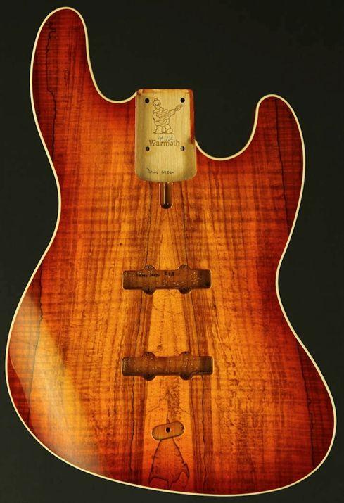 Warmoth Design Custom JBass® Bass Replacement Body