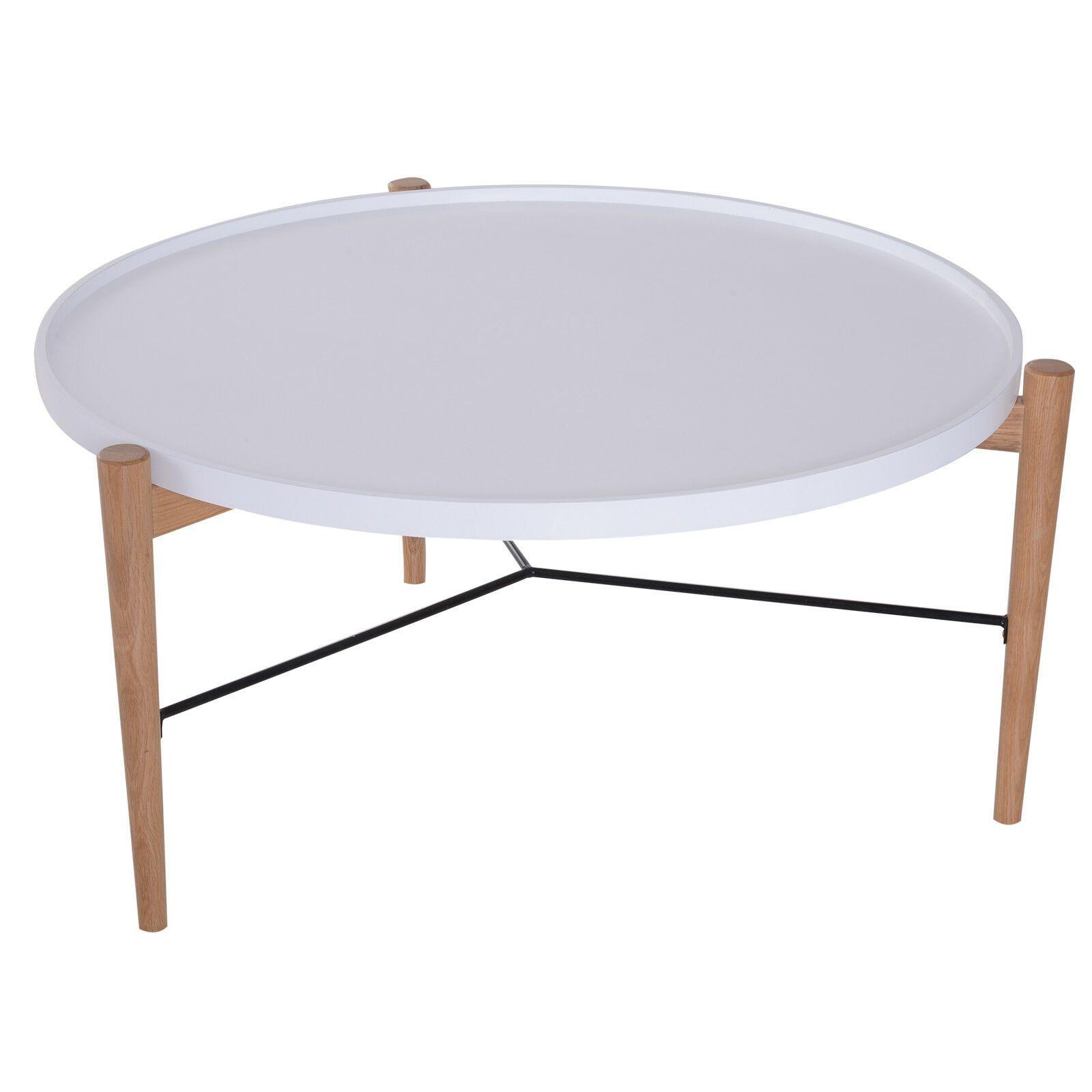Table Basse Ronde Homcom Diametre 90cm Du Salon Steel 90x45cm Bois Acier 90cm 90x45cm Acier Basse Bois Diametre Du Table Basse Ronde Table Basse Table