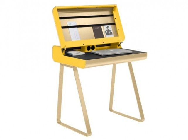 bureau secretaire moderne pour que tout soit toujours rangé ... - Meuble Secretaire Design