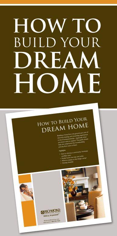 How to Build Your Dream Home – RichmondAmerican.com