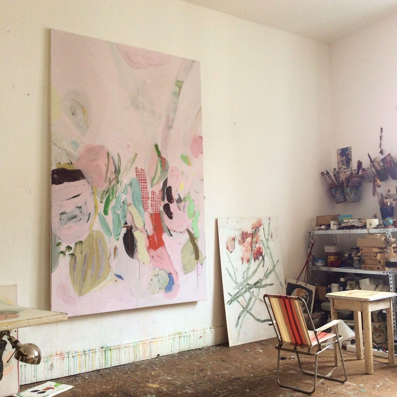Anne Sophie Tschiegg Chantiers Aout Les Arts Peinture Abstraite Comment Peindre