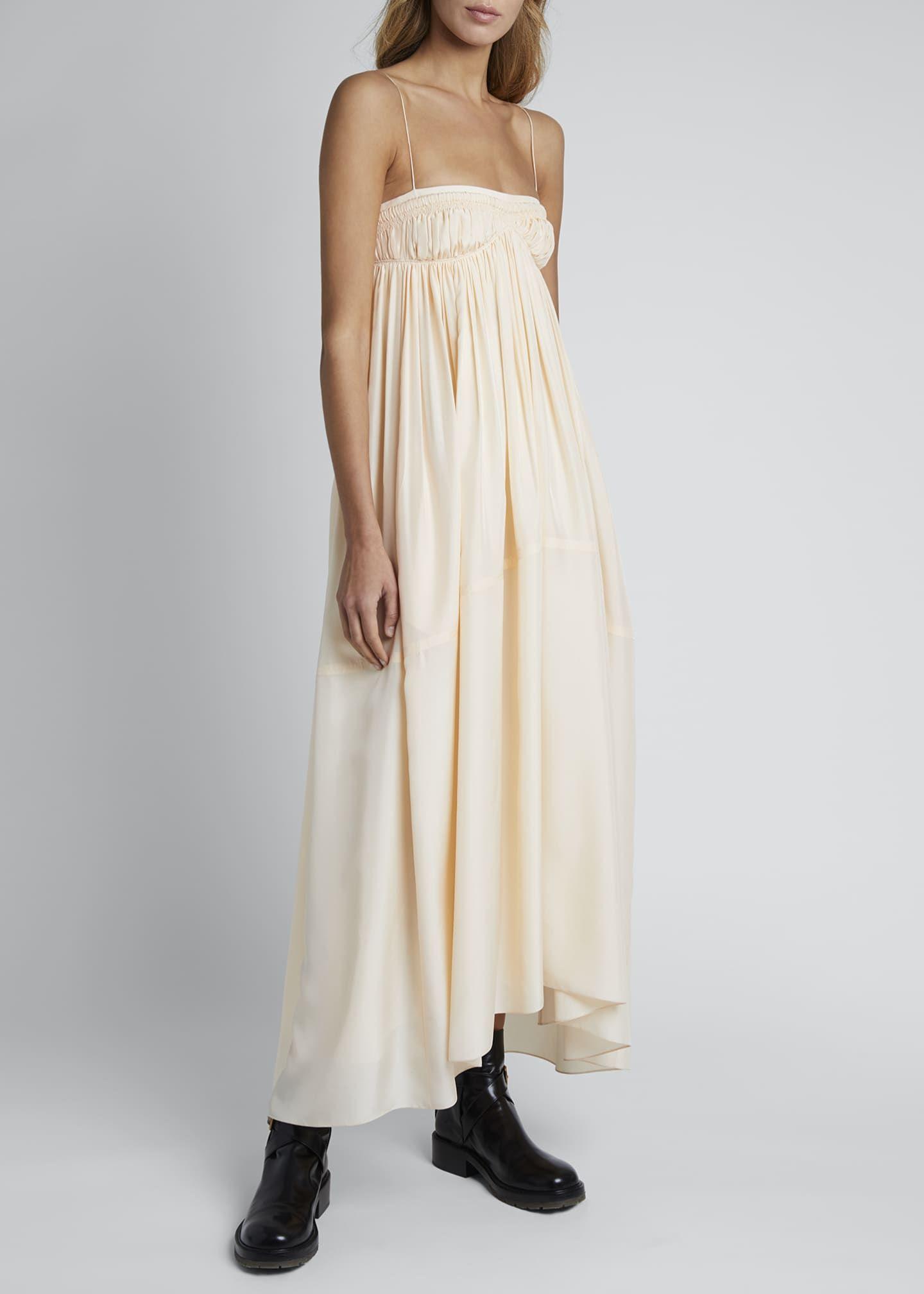 Chloe Silk Spaghetti Strap Square Neck Dress Square Neck Dress Summer Occasion Dress Dresses [ 2016 x 1440 Pixel ]